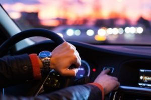 Man Hands In Car - traffic violation representation springfield