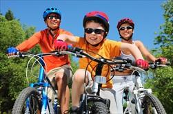 Kids Riding Bicycles - traffic ticket representation springfield
