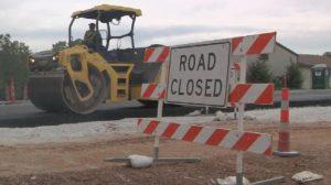 Road Closed - traffic ticket representation springfield